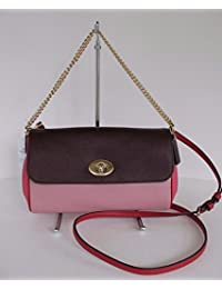 COACH F57501 RUBY CROSSBODY IN GEOMETRIC COLORBLOCK CROSSGRAIN LEATHER