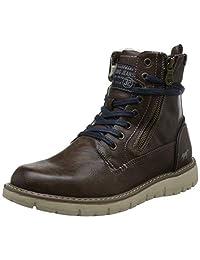 Mustang 男 时装靴 4107-605 (亚马逊进口直采, 德国品牌)