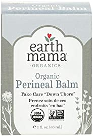 Earth Mama Organic Perineal Balm for Pregnancy and Postpartum, 2 Fluid Ounce