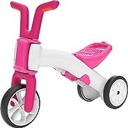 Chillafish 渐进平衡自行车和三轮车 粉色/白色