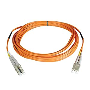 Tripp Lite Duplex Multimode 50/125 Fiber Patch Cable (LC/LC), 25M (82-ft.)(N520-25M)