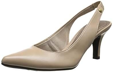 LifeStride Shena 女士正装高跟鞋 Tender/Taupe 5 M US