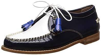 G.H. Bass & Co. 女士 Winnie 牛津鞋 *蓝/白色 7 M US