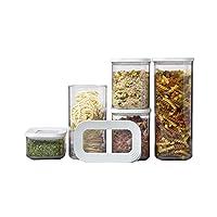 Rosti Mepal Modula 入门套装 5 个食品保鲜盒