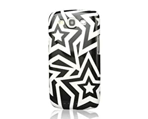 UNIEA 【Samsung Galaxy S3*手机壳】Stars Series手机壳stars-s3-momo 黑色/白色