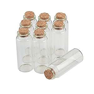TAI DIAN Empty 迷你瓶软木塞 10 毫升 15 毫升 20 毫升 25 毫升 30 毫升 40 毫升 55 毫升 玻璃罐 创意婚礼 小瓶 批发 透明的 40ml-30x80x17mm TAI DIAN