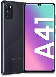 Samsung 三星 Galaxy A41,智能手机,显示屏6.1 寸(约 15.5 厘米),Super AMOLED, 3 个内存,64 GB 扩展,4 GB 内存,3500 mAh,4 G,Dual SIM,Andr