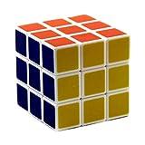 Dazzling Toys 3 X 3 经典拼图魔方玩具标准 6 色大脑跳跃拼图 - 2 1/4 英寸