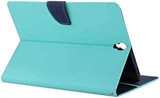 alsatek 蓝色纹理 PU 皮革保护套适用于 Galaxy S3 9.7 T825/T820