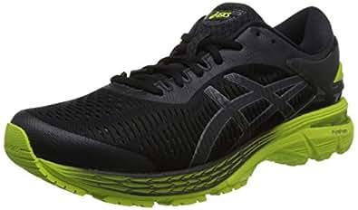 ASICS 亚瑟士 男 跑步鞋 GEL-KAYANO 25 1011A019-001 黑色/黃色 46