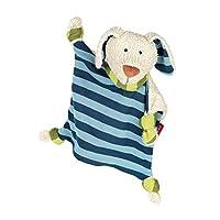 sigikid –安抚巾 婴儿玩具, Hund Blau, Hund Blau