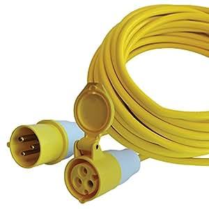 Faithfull TL14HDUTY 尾随铅(110 伏) 14 米 16 安培 2.5 mm 电缆