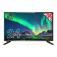 "Cello 12 伏 ZS0242 12V 24"" HD Ready LED 電視帶 Freeview HD 內置衛星英國制造(新款 2020 型號)"