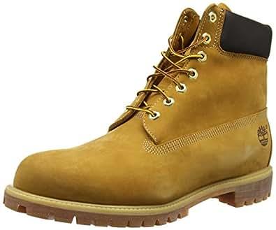 Timberland Men's 6 inch Premium Waterproof BootWheat Nubuck8 M US