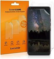 kwmobile 屏幕保護膜 3 件套 適用于 HTC U12+ / U12 Plus - 水晶透明屏幕膜