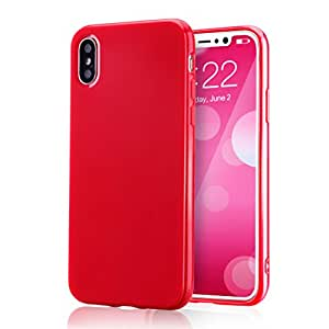 iPhone 6X TPU Red for iPhone X/Xs