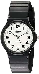 CASIO 卡西欧 指针系列塑胶黑色男表 MQ-24-7B2LDF
