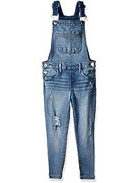Calvin Klein Jeans 女童牛仔布整体,