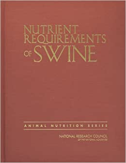 nutrient requirements of swine eleventh revised edition 2012 pdf