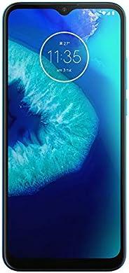 摩托罗拉 Moto G8 Power Lite 64GB,4GB 内存,5000 mAh 电池,6.5 英尺 HD+LTE 工厂解锁智能手机 - 国际版 蓝*