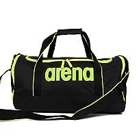 Arena阿瑞娜游泳包 收纳包游泳运动包旅行包干湿分离泳包 (黑色)