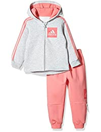 adidas Kids 阿迪达斯 婴儿 婴童针织套服 I E 3S FZHD FL