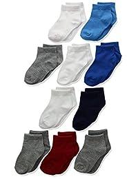 Hanes 男婴幼儿及踝袜 10 双装