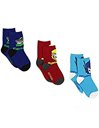 变形金刚男孩3件装筒袜幼儿 / 小童 / 大童