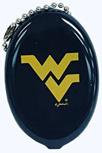 NCAA West Virginia Mountaineers Keychain Squeeze Coin Purse