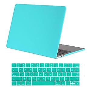 MacBook Pro 13 保护套 2017 & 2016 年版 A1706/A1708,BESTeck 硬壳外壳和键盘皮套适用于带/不带触摸棒和触摸 ID 的 Apple Macbook Pro 13英寸