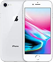 Apple iPhone 8,64GB,银色 - 完全解锁(*版优质)
