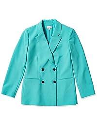 Tahari ASL 女士双排扣缺口领夹克
