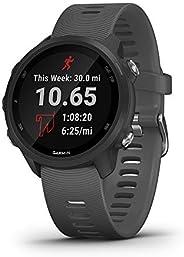 Garmin 佳明 Forerunner 245 跑步系列 帶高級動態的GPS 運行智能手表,石板灰色