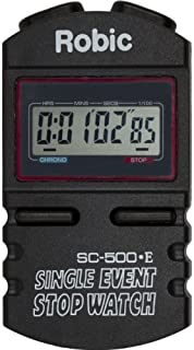 Robic SC-500E 单次活动手表,黑色