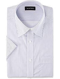 [形态稳定 短袖衬衫] 纽扣领 清凉 商务/工作/求职 【可选颜色变化】 1990 短袖BD