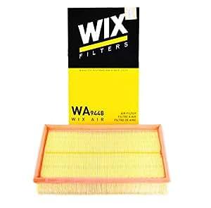WIX 维克斯 空气滤清器/空滤芯WA9448进口大众凯路威/迈特威(T5)2.0TSI(2012.09-) *3个超值套装(亚马逊自营商品, 由供应商配送)