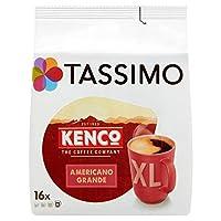 Tassimo Kenco 美式大杯咖啡粉囊包(5包, 共80顆)