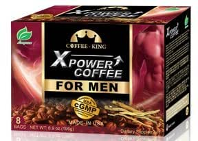 X-Power 咖啡 男式 Instant Tongkat Ali Ginseng 咖啡 *男性增强能量,8 包