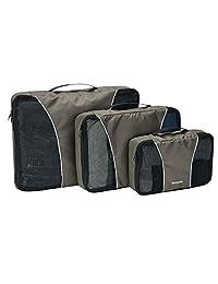 Samsonite 新秀丽 3件套收纳包旅行手提包炭黑色 均码