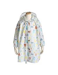 饼干 儿童用 雨衣 太阳镜 共3种颜色 共3种尺寸 儿童外套 灰色 带收纳袋 灰色 100 83168