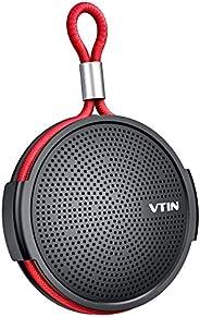 Vtin 防水淋浴揚聲器帶 IPX5 防水吸盤。 藍牙淋浴揚聲器,帶藍牙 4.2 和高清聲音。 Support TF 卡,內置麥克風。 適合家居/戶外/海灘/旅游 灰色