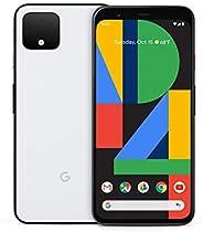 Google 手机 Pixel 4 -128GB - 已解锁-清晰白色