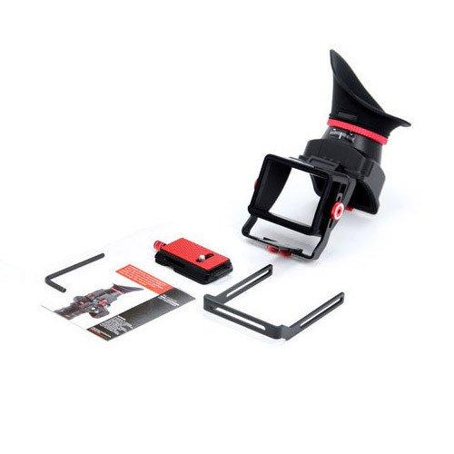 新款摄影和影院 PNC VF-4 LCD 取景器,带延长支架适用于 DV 相机 SLR