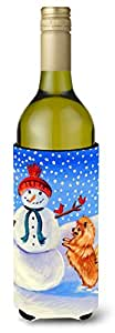Snowman with Pomeranian Winter Snowman Michelob Ultra Koozies for slim cans 7151MUK 多色 750 ml
