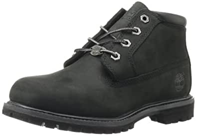 Timberland Women's Nellie Double WP Ankle Boot Black 5 M US