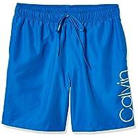 Calvin Klein 男式松紧带式泳裤