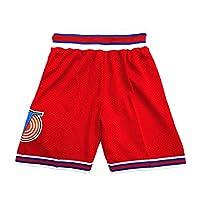CAIYOO 青年空间电影短裤儿童篮球短裤运动裤男童XS-XL 白色/黑色/红色 红色 X-Small