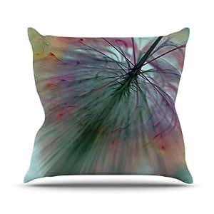Kess InHouse Alison Coxon Fleur 室内/室外抱枕 16 in. 多种颜色 AC1006AOP02