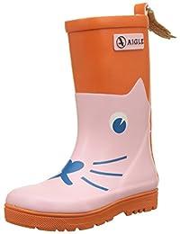 Aigle 中性儿童 Woody Pop Fun 经典靴子