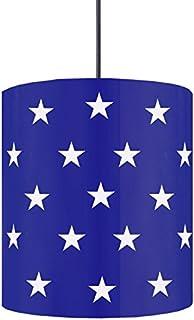 tosel 13907吊灯 Etoiles 钢60 W E 27 Bleu Marine (910)